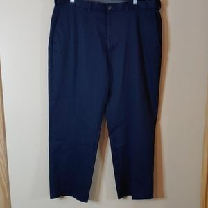 Haggar clothing navy classic fit dress pants 40x29